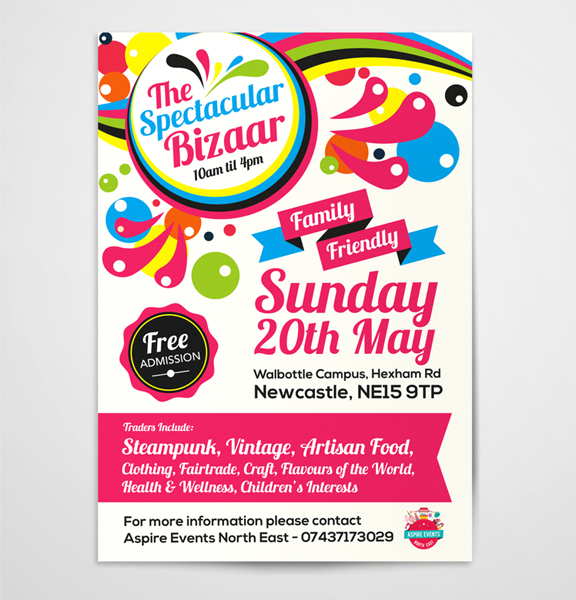 Aspire-Events-Spectacular-Bizaar-A3-Poster