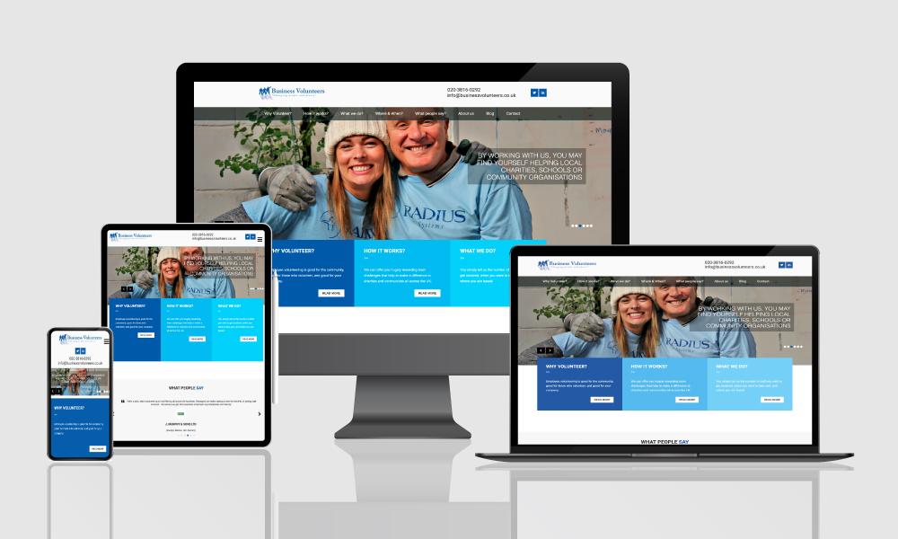 Business-Volunteers-Website